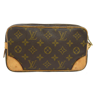 LOUIS VUITTON Monogram Marly Dragonne PM the real real