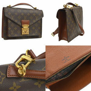 LOUIS VUITTON Monogram Monceau 26 crossbody
