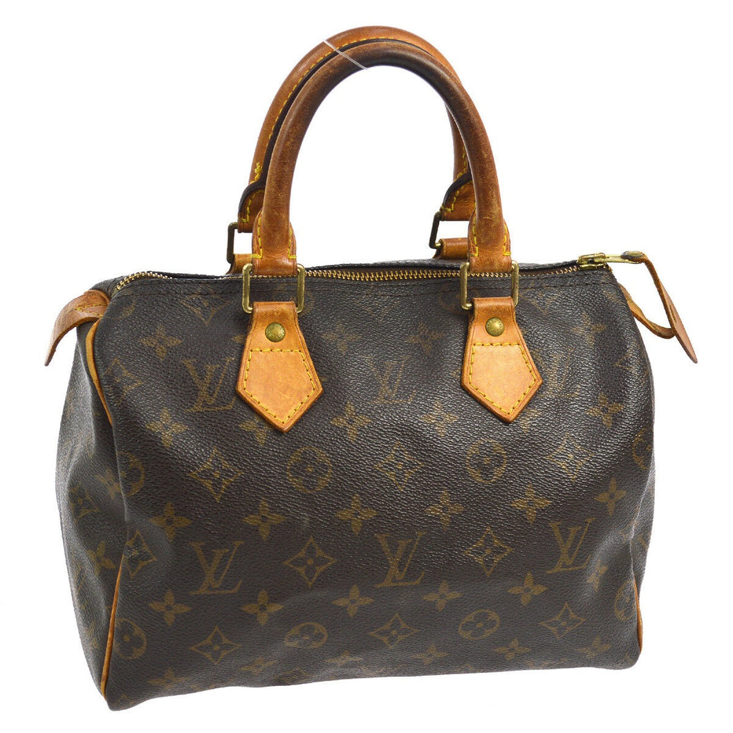 LOUIS VUITTON MONOGRAM SPEEDY 25 HANDBAG on etsy