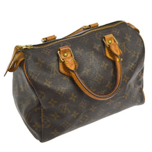 LOUIS VUITTON MONOGRAM SPEEDY 25 HANDBAG the real real