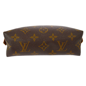 Authentic LOUIS VUITTON Monogram Demi-Ronde Trousse Pouch The real real