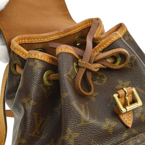 Montsouris Mini Backpack Louis Vuitton the real real