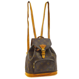 LOUIS VUITTON Monogram Mini Montsouris Backpack the real real