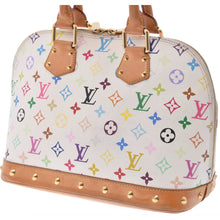 LOUIS VUITTON Multicolore Alma PM the real real