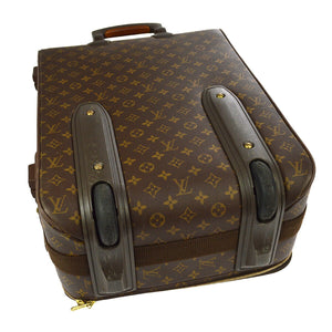 LOUIS VUITTON Monogram Pégase 55 at the real real