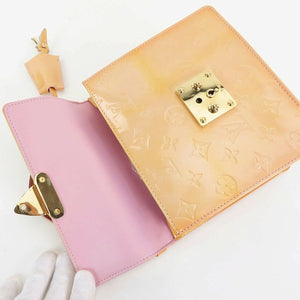 AUTHENTIC LOUIS VUITTON VERNIS PINK SPRING STREET BAG