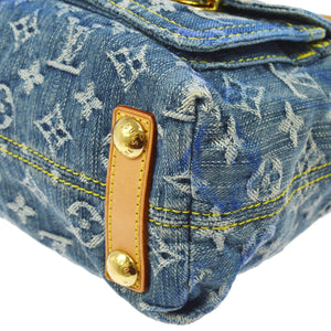 LOUIS VUITTON Monogram Denim Baggy PM