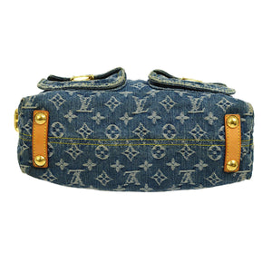 Louis Vuitton Denim bag the real real