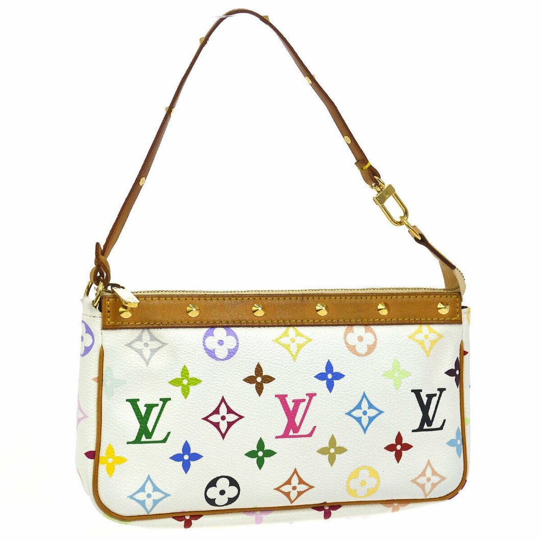 LOUIS VUITTON Multicolore Monogram Pochette Accessories
