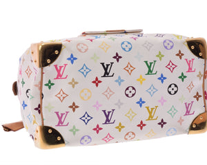Louis Vuitton Takashi Murakami Collection, White multicolore monogram coated canvas Louis Vuitton  at tradesy