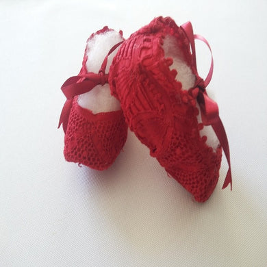 Baby Christening Shoes Renaissance