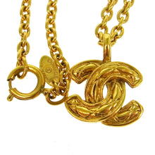 CHANEL CC Vintage Pendant Necklace on sale