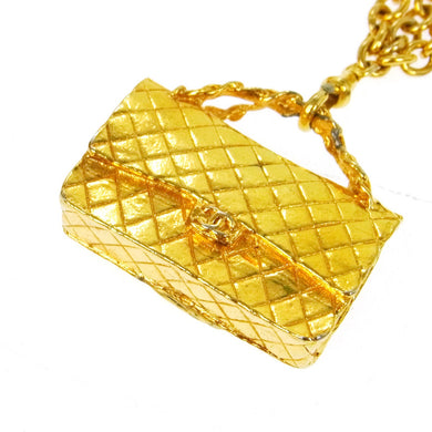 CHANEL Classic Handbag Pendant Necklace