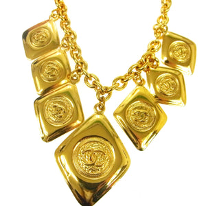 CHANEL CC Medallion Necklace