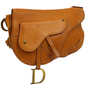 CHRISTIAN DIOR Medium Saddle Messenger Bag