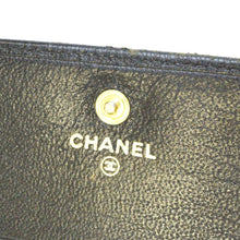 Chanel CC Black leather Wallet