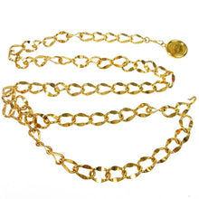 Chanel CC Vintage Gold-tone Chain kylie jenner
