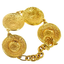 Gold-tone CC logos Chanel Bracelet the real real