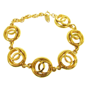 CHANEL Vintage CC Link Bracelet on sale