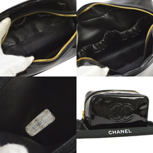Chanel vintage CC Cosmetic handbag at the real real