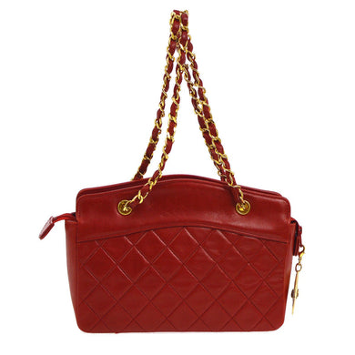 Chanel CC  Chain Red HandBag