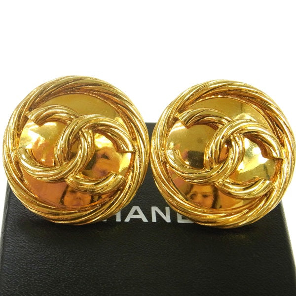 Chanel Vintage CC earrings ,Chanel jewelry,