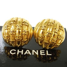 Chanel Gold-tone Earrings  CC logos