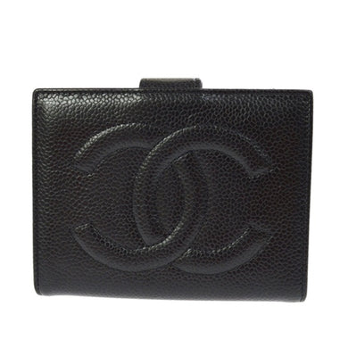 Chanel Caviar Leather Wallet the real real