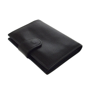 Chanel Cc bifold wallet Black caviar leather vestiaire collective