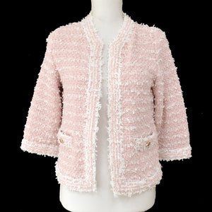 Chanel Pink/White Jacket