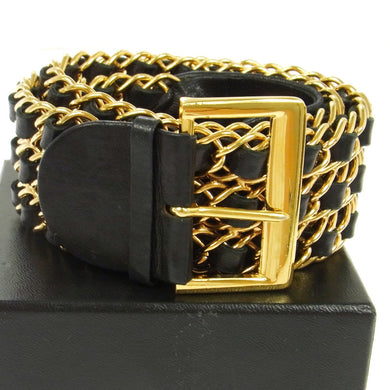 CHANEL Vintage Chain-Link Belt