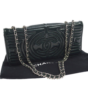 Chanel CC Double Chain Shoulder Bag