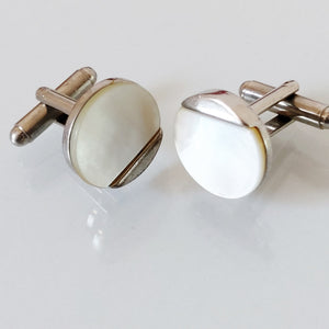 Cufflinks Dior,	dior jewelry,	Cufflinks vintage, Pierre Cardin cufflinks, vintage anni 50 cufflinks,	Men 50's Jewelry,	mother pearls jewels,	Made In Italy Cufflinks,