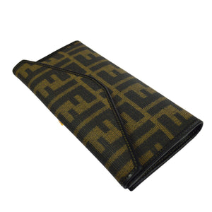 FENDI Zucca FF Bifold Wallet the real real