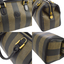 FENDI Vintage Pequin Satchel & Shoulder/Crossbody Bag