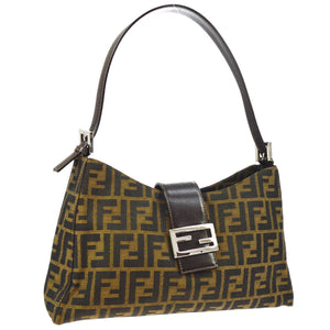 FENDI Zucca Shoulder Bag - Fendi Tote Bag