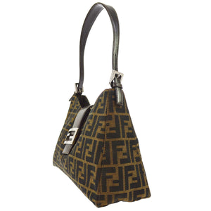 FENDI Zucca Shoulder Bag - Fendi Tote Bag the real real