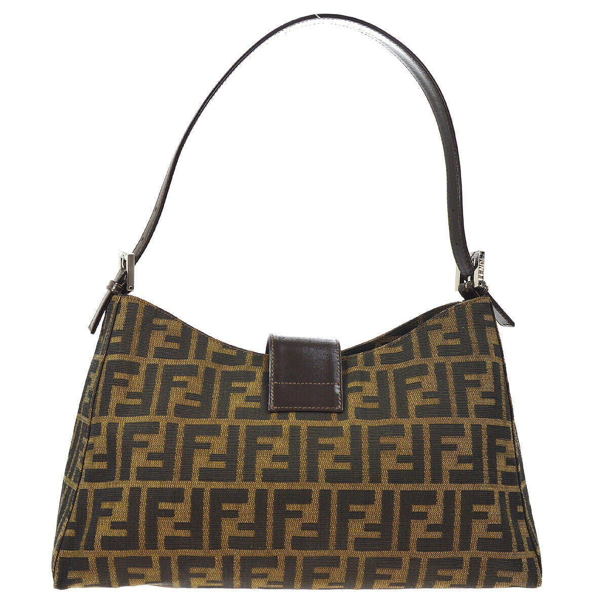 b69fd9ce9f8f ... FENDI Zucca Shoulder Bag - Fendi Tote Bag tradesy ...