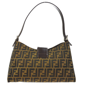 FENDI Zucca Shoulder Bag - Fendi Tote Bag tradesy