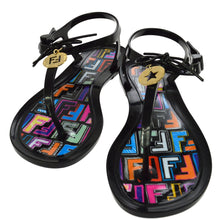 FENDI Zucca Black Sandals Shoes summer trend