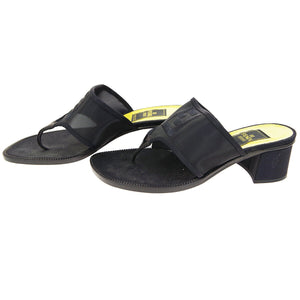 FENDI SANDALS SHOES LEATHER