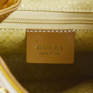GUCCI Vinatge Patent Bamboo Mini Backpack