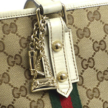 GUCCI GG Canvas Shelly Mini Shoulder Tote the real real