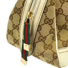 GUCCI GG Canvas Shelly Handbag Tote, Gucci Guccissima on etsy