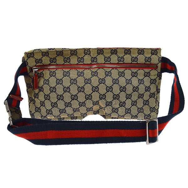 4491ad7a89979 Gucci GG Canvas Waist Bum Bag – Luxury Boutique Italy