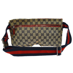 Gucci GG Canvas Waist Bum Bag NEW YORK