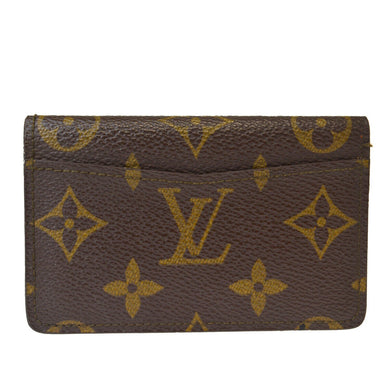 LOUIS VUITTON Monogram Organizer Card Case Wallet