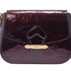 Louis Vuitton Bellflower Pm Amarante Vernis Patent Leather Cross Body Bag