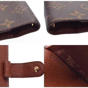 Louis Vuitton Brown Monogram Pm Agenda
