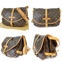 LOUIS VUITTON Monogram Saumur 30 best price